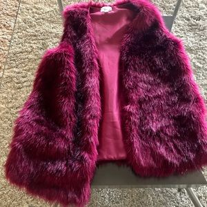 Other - Fun colorful fur vest